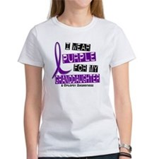 I Wear Purple 37 Epilepsy Tee