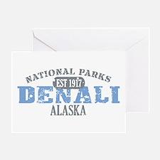 Denali National Park Alaska Greeting Card