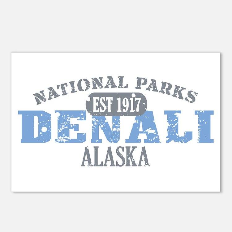 Denali National Park Alaska Postcards (Package of