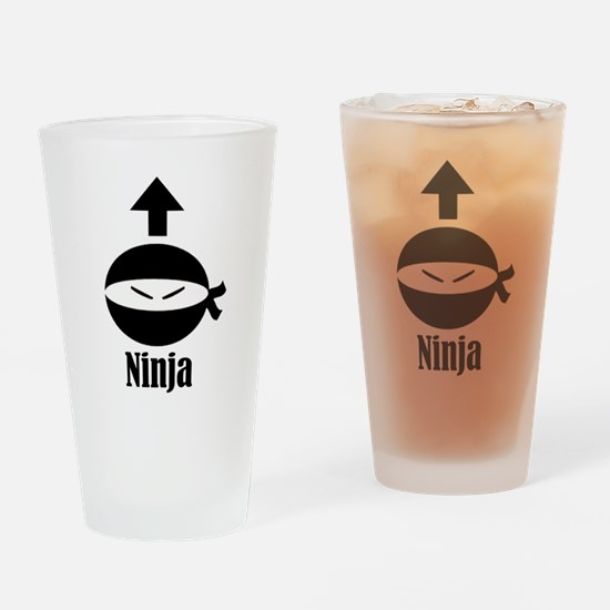 Self Ninja Drinking Glass