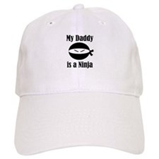 My Daddy is a Ninja Baseball Cap