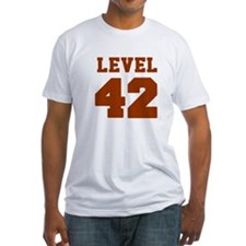 Classic Level 42 Baseball Jersey logo T-Shirt