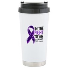 In The Fight Cystic Fibrosis Travel Mug