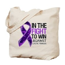 In The Fight Cystic Fibrosis Tote Bag