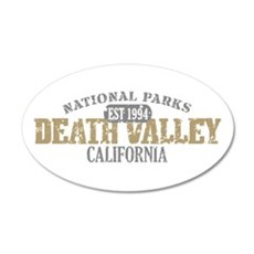 Death Valley National Park CA 22x14 Oval Wall Peel