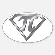 SUPER PI Sticker (Oval)