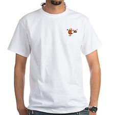 Ship, Reawaken White T w/Boomgono on Front (M)