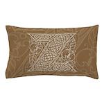 Celtic Letter Z Pillow Case