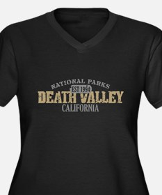 Death Valley National Park CA Women's Plus Size V-