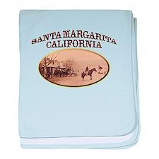 Santa Margarita baby blanket