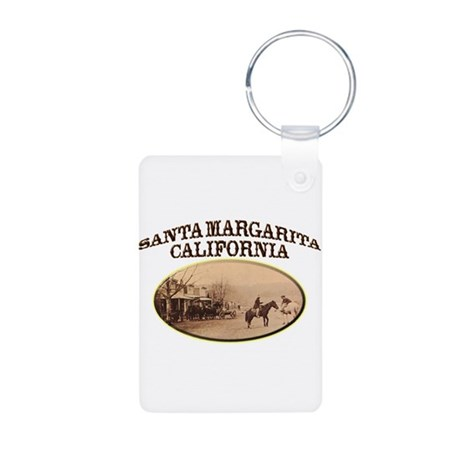 Santa Margarita Aluminum Photo Keychain