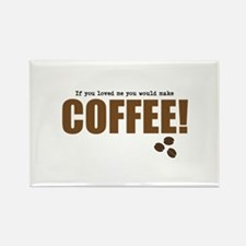 Coffee Rectangle Magnet