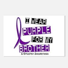 I Wear Purple 37 Epilepsy Postcards (Package of 8)