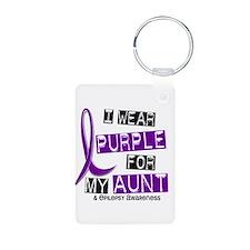 I Wear Purple 37 Epilepsy Keychains