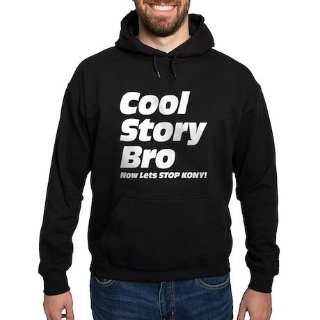 Cool Story Bro: Now Lets Stop Kony Hoodie (dark)