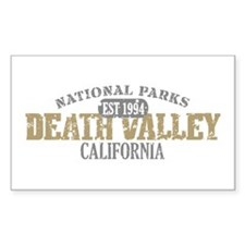 Death Valley National Park CA Decal