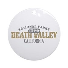 Death Valley National Park CA Ornament (Round)