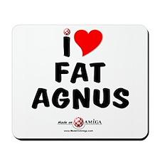 Fat Agnus Mousepad