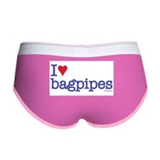 I heart bagpipes Women's Boy Brief