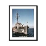 USS PARLE Framed Panel Print