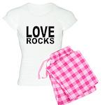 LOVE ROCKS Women's Light Pajamas