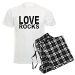 LOVE ROCKS Men's Light Pajamas