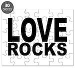 LOVE ROCKS Puzzle