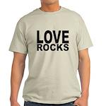 LOVE ROCKS Light T-Shirt