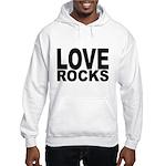 LOVE ROCKS Hooded Sweatshirt