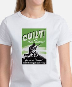 Quilt For Victory! Tee