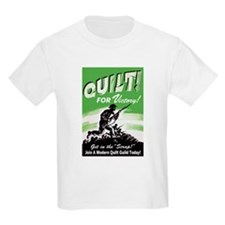 Quilt For Victory! T-Shirt
