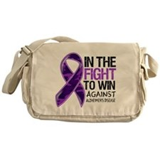 In The Fight Alzheimers Messenger Bag