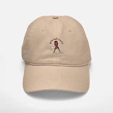 Racquetball Girl (Dark) Baseball Baseball Cap