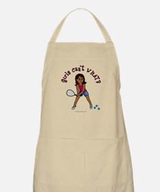 Racquetball Girl (Dark) Apron