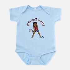 Racquetball Girl (Dark) Infant Bodysuit