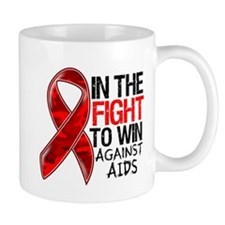 In The Fight To Win AIDS Mug