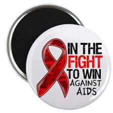 In The Fight To Win AIDS Magnet