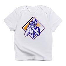 film crew cameraman Infant T-Shirt