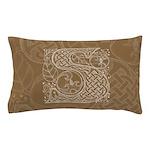 Celtic Letter S Pillow Case