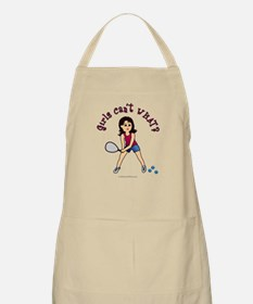 Racquetball Girl (Light) Apron
