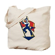 communist worker Tote Bag