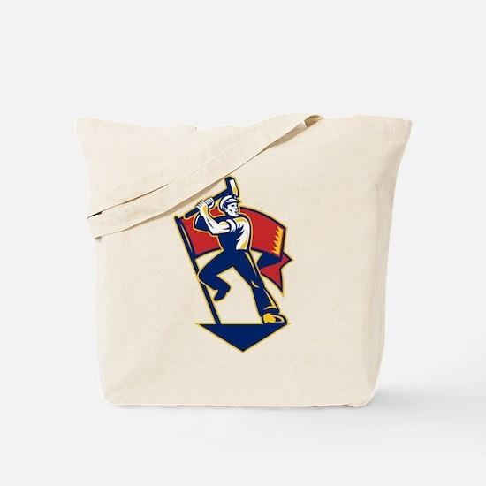 communist worker Tote Bag