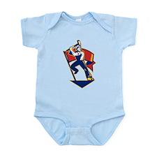 communist worker Infant Bodysuit