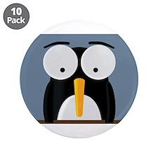 "3.5"" Penguin Button (10 pack)"