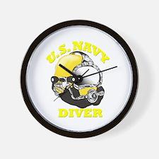 MK21 NAVY DIVER Wall Clock