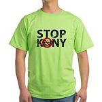 Stop Kony Green T-Shirt