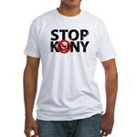 Stop Kony Fitted T-Shirt