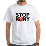 Stop Kony White T-Shirt