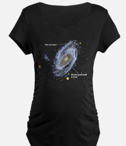 You Are Here Maternity T-Shirt