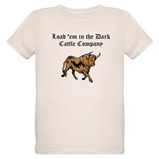 Load em in Dark Cattle Compan T-Shirt